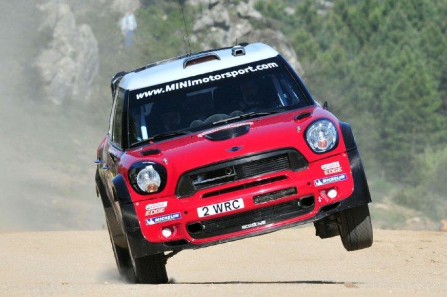 WRC: Sardinijos ralis