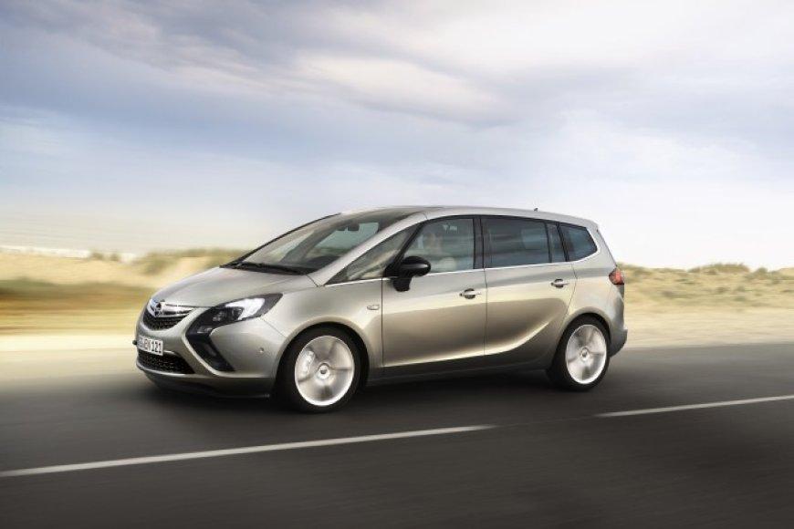"""Opel Zafira Tourer"" bus gaminama greta klasikinės ""Zafira"""