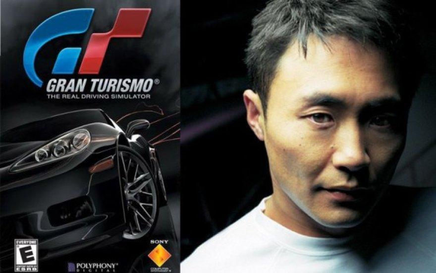 """""""Gran Turismo 5"""" ir jo kūrėjas"""