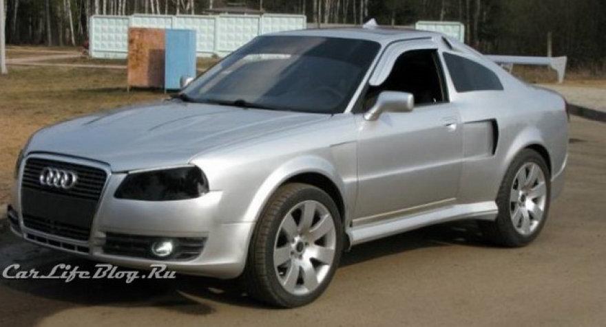 """Kreivų rankų darbo """"Audi Coupe"""""""