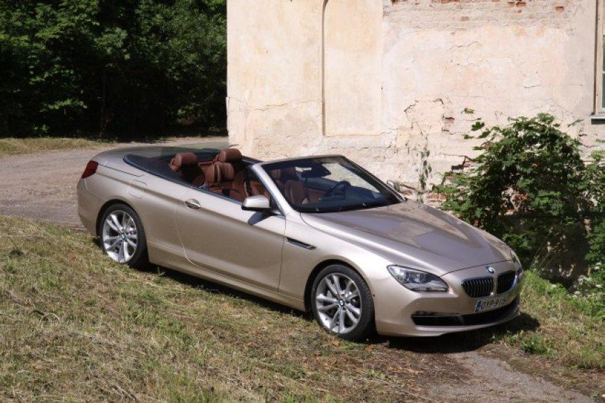 BMW 6 serijos kabrioletas