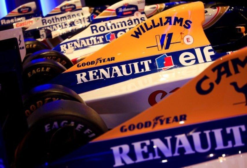 """Renault Sport F1"" ir ""AT&T Williams"" atnaujina bendradarbiavimą"