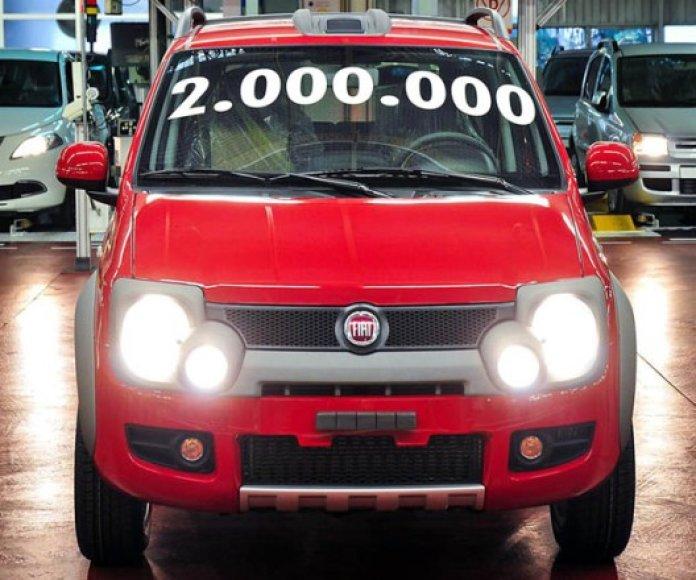 """Du milijoninis """"Fiat Panda"""""""