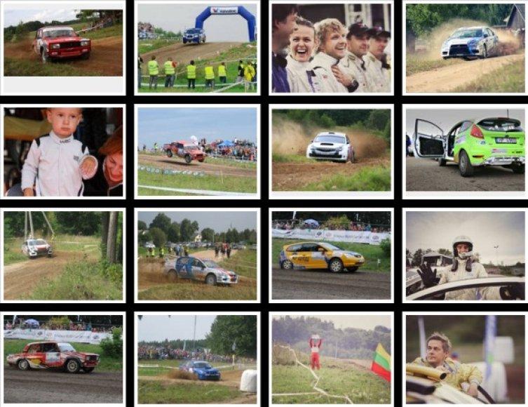 """Renkame geriausią """"300 Lakes Rally"""" kadrą!"""