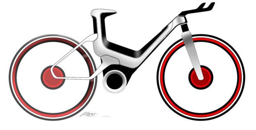 """Ford"" elektrinis dviratis"