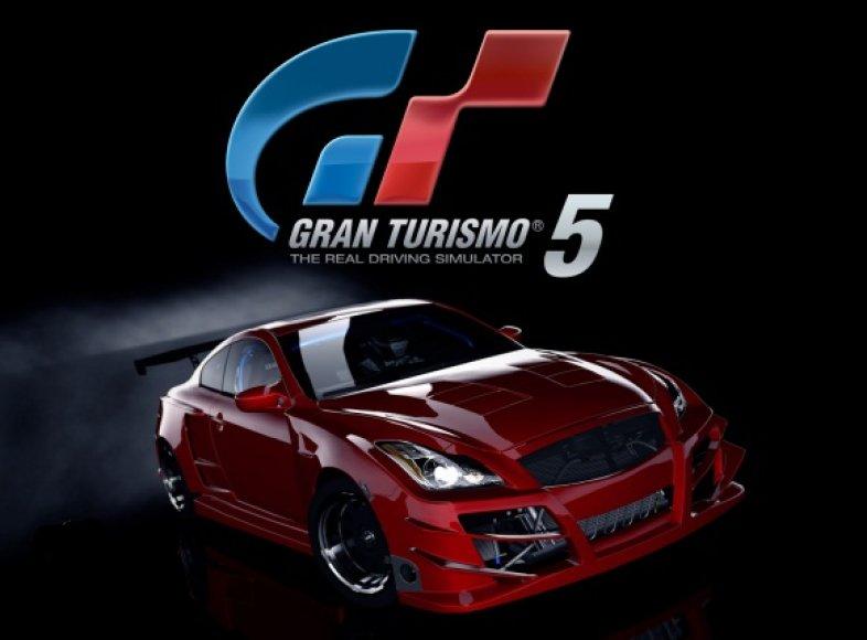 """""""Gran Turismo 5"""" turnyras"""