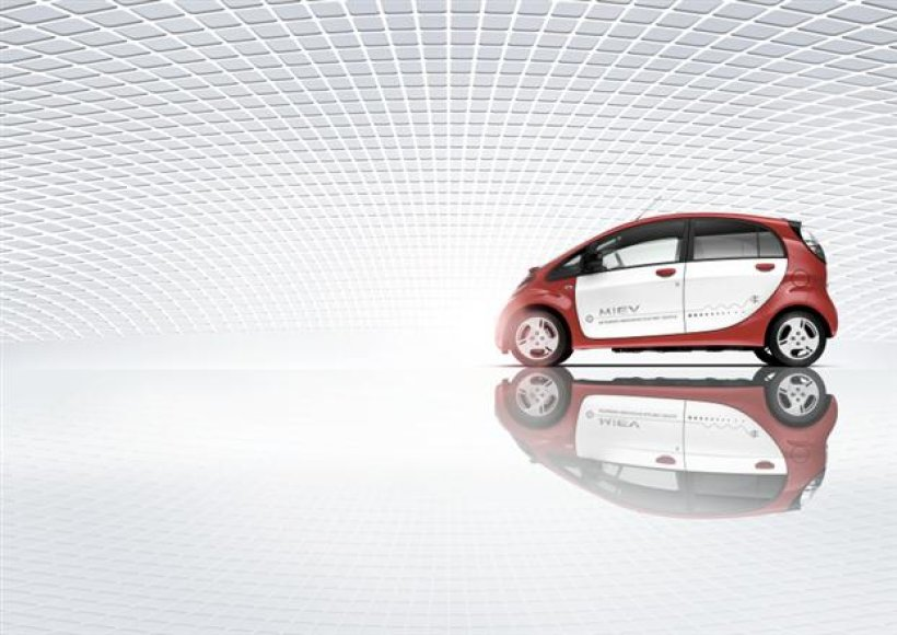 "Elektromobilis ""Mitsubishi i-MiEV"""