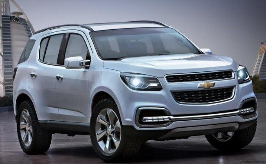 """Chevrolet Trailblazer"" koncepcija"