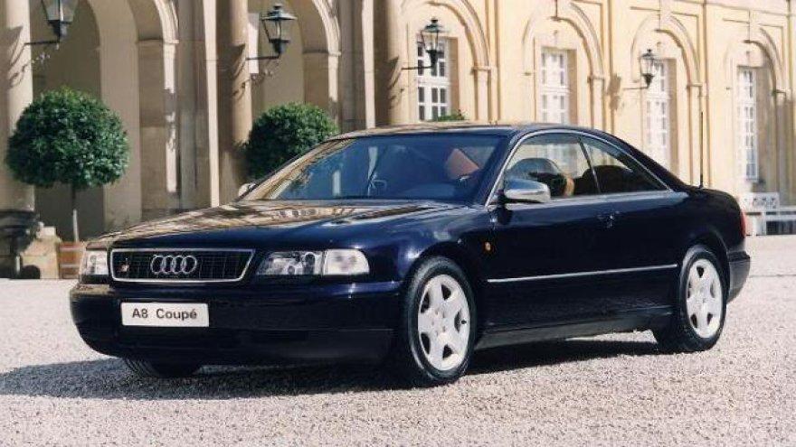 "Koncepcinis ""Audi A8 Coupe"""