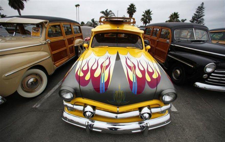 Senas, bet galingas automobilis