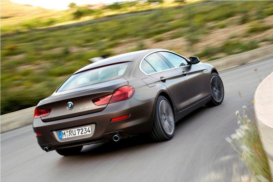 "6 serijos BMW ""Gran Coupe"""
