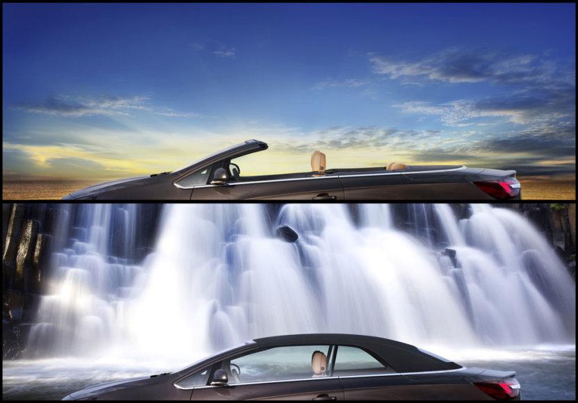 """Užuomina į naują """"Opel Cascada"""""""