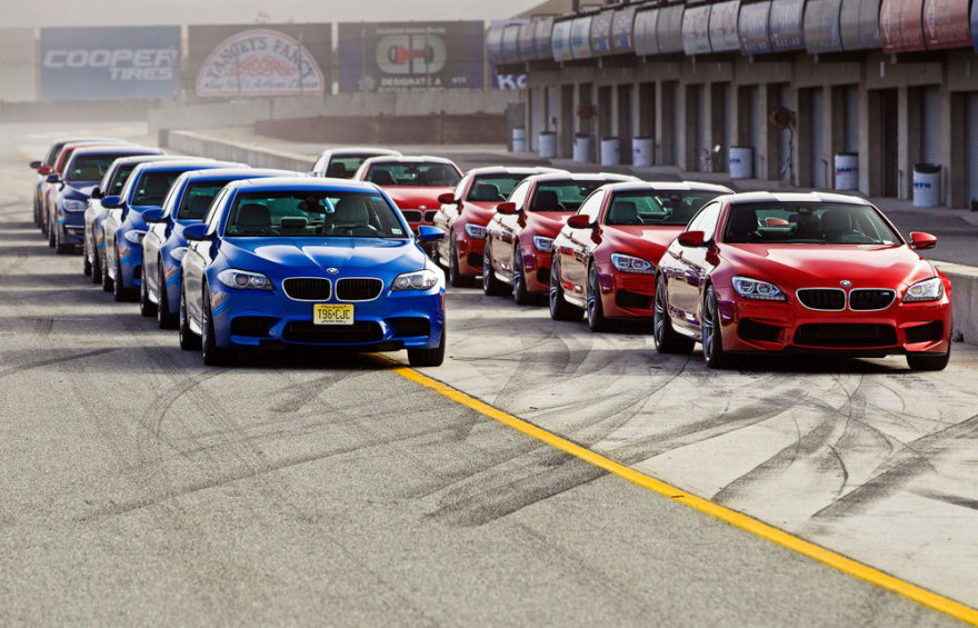 BMW bandymai – eilė M5 ir eilė M6 modelių