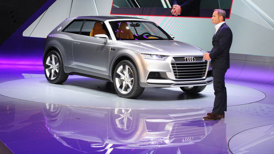"""Audi Crosslane Concept"""