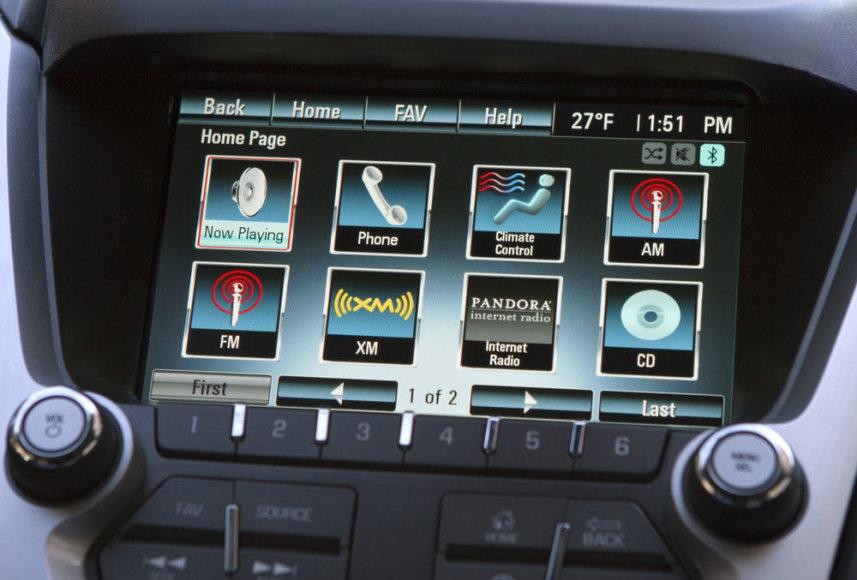 """""""General Motors"""" audio sistema"""