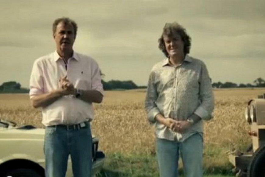 """Jeremy Clarksonas ir Jamesas May – """"Top Gear"""" filme """"Blogiausias automobilis pasaulyje"""""""