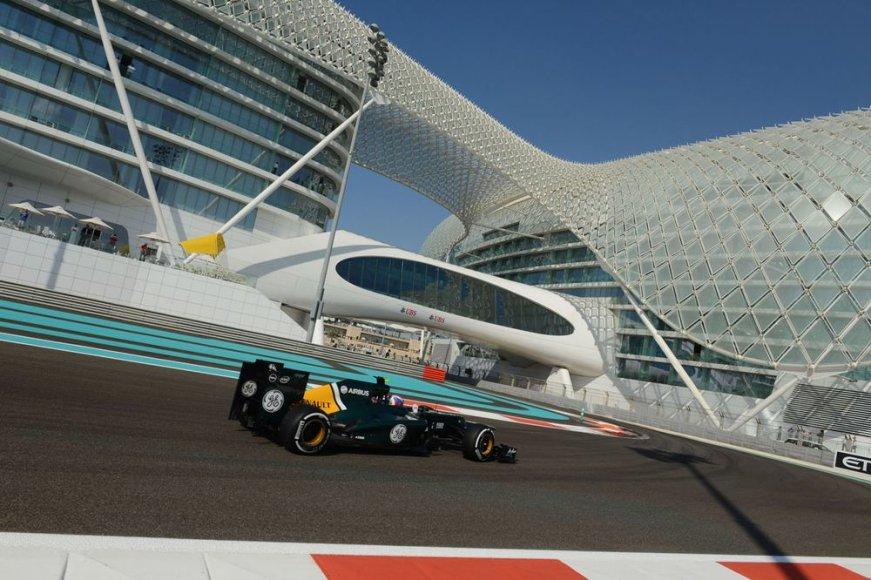 """""""Formulės-1"""" Abu Dabio lenktynių kvalifikacija"""