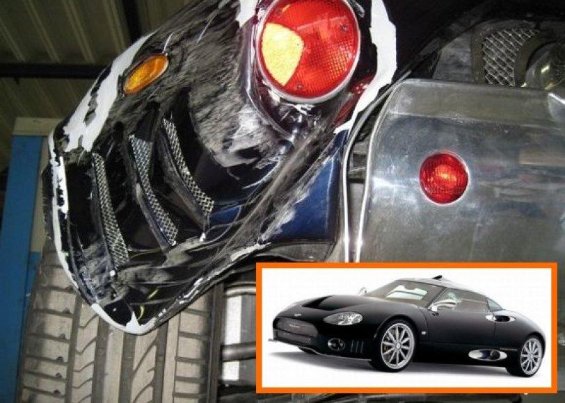 """Spyker C8 Laviolette"" apgadintas ""Tanagra"" servise"