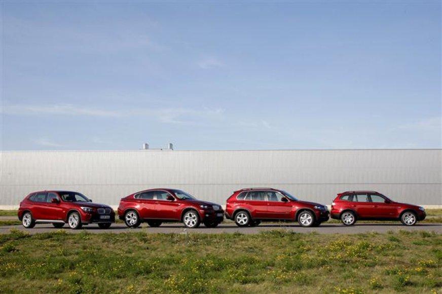 BMW X modelių šeima