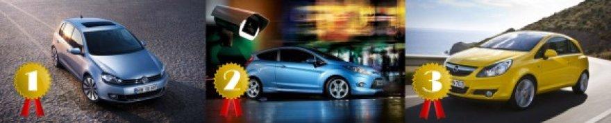 Trys Europoje perkamiausi 2011 metų automobiliai