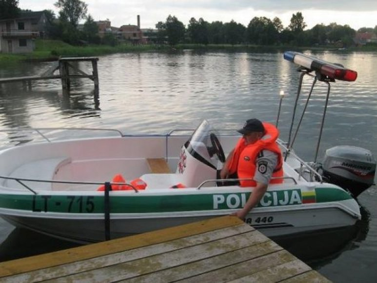 Policininkai ir saugios laivybos inspektoriai rengs reidus vidaus vandenyse.
