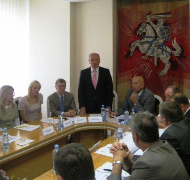 Klaipėdos regiono plėtros tarybos pirmininku išrinktas Šilutės meras Virgilijus Pozingis.