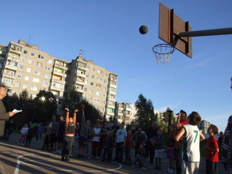 Krepšinio turnyras Klaipėdoje vyks atnaujintoje aikštelėje.