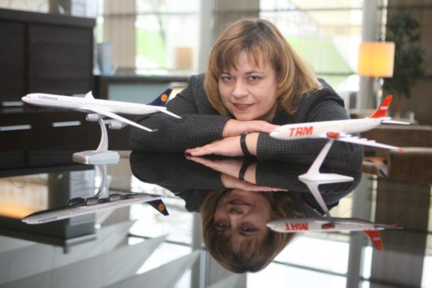 """R.Barisienė viliasi, kad """"Star1 Airlines"""" istorija paskatins klientus daugiau dėmesio skirti ne tik paslaugos kainai, bet ir jos teikėjo patirčiai."""