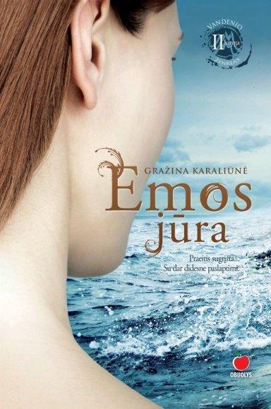 """Knygos """"Emos jūra"""" viršelis"""