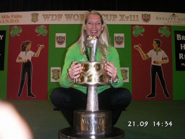 E. Bagdonavičienė pasaulio taurės varžybose