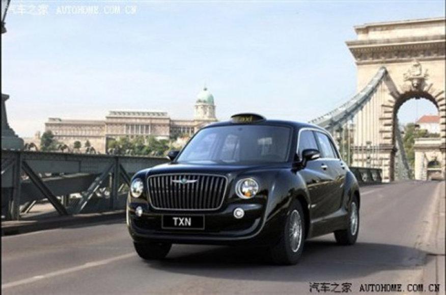 Kinai paruošė naują Londono taksi versiją