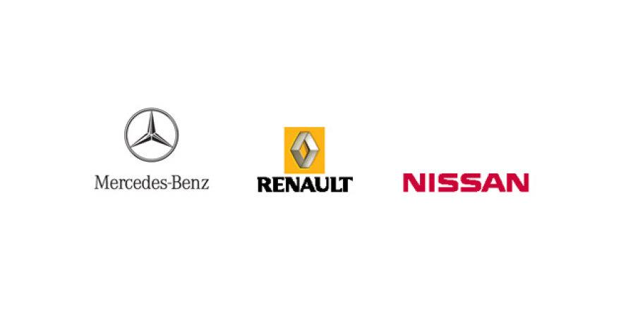 """""""Daimler"""", """"Renault"""" ir """"Nissan"""" baigia susitarti dėl aljanso"""