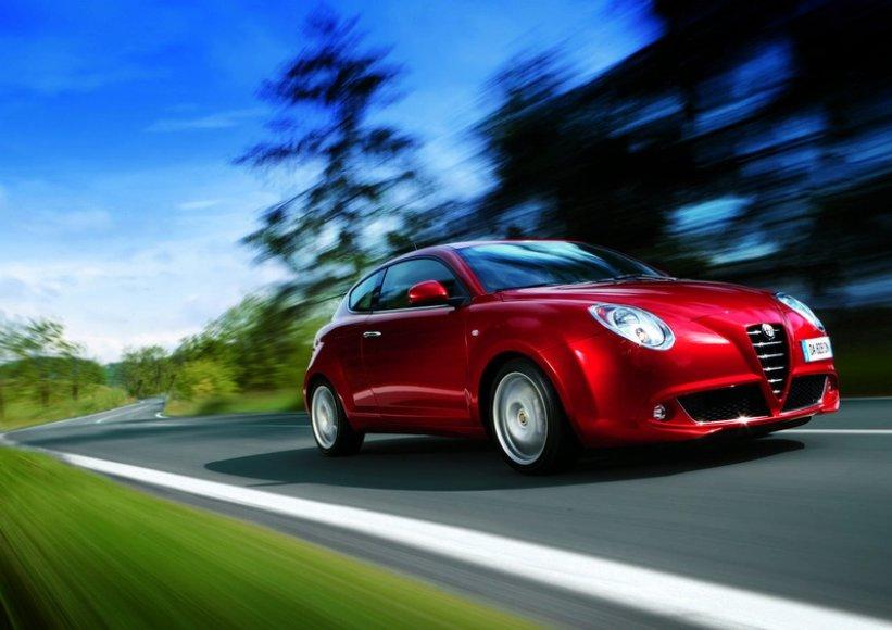 """""""Alfa Romeo Mito"""" stabilumas sukėlė abejonių"""
