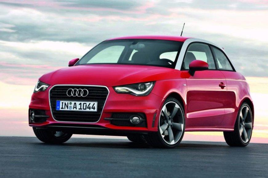 """""""Audi A1"""" kaina – nuo 13 145 svarų sterlingų"""