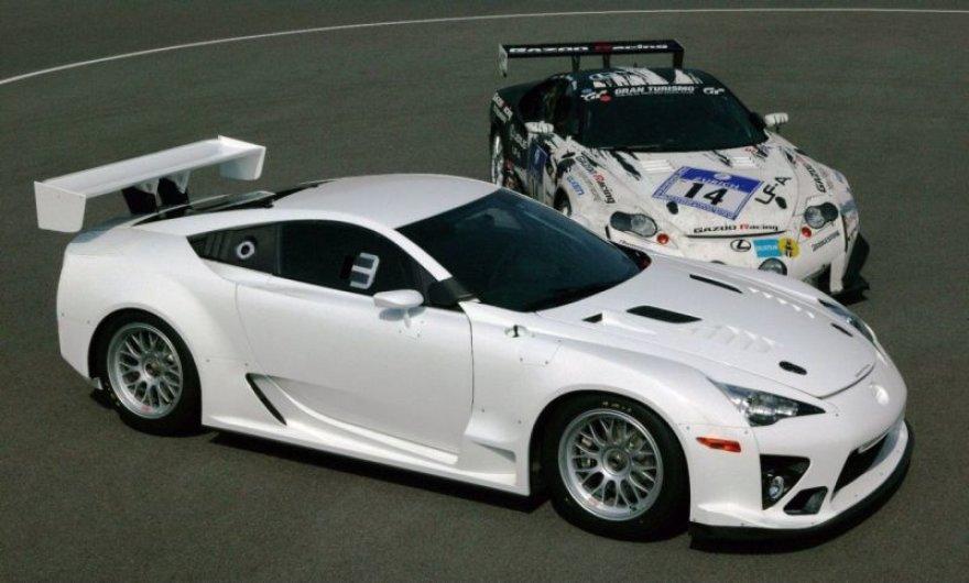 """""""Lexus"""" grįžta į 24 valandų lenktynes"""