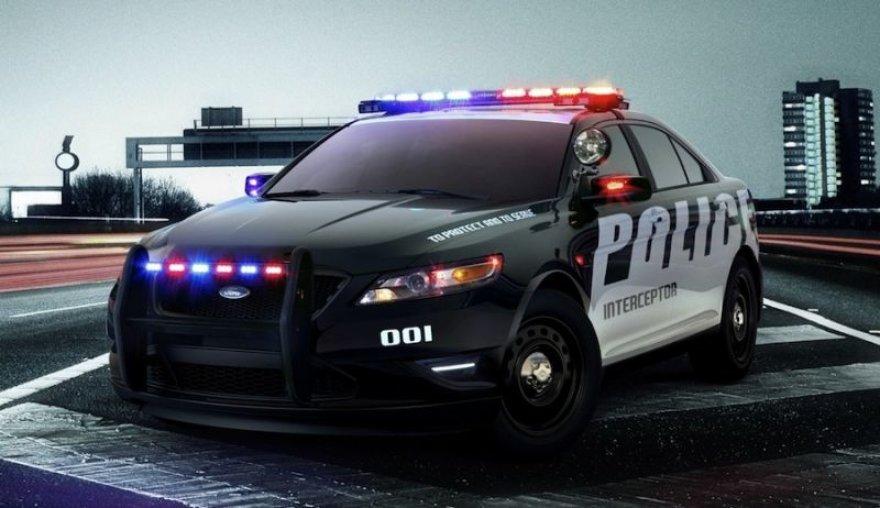 """""""Ford Police Interceptor"""" – naujas ginklas JAV policijai"""