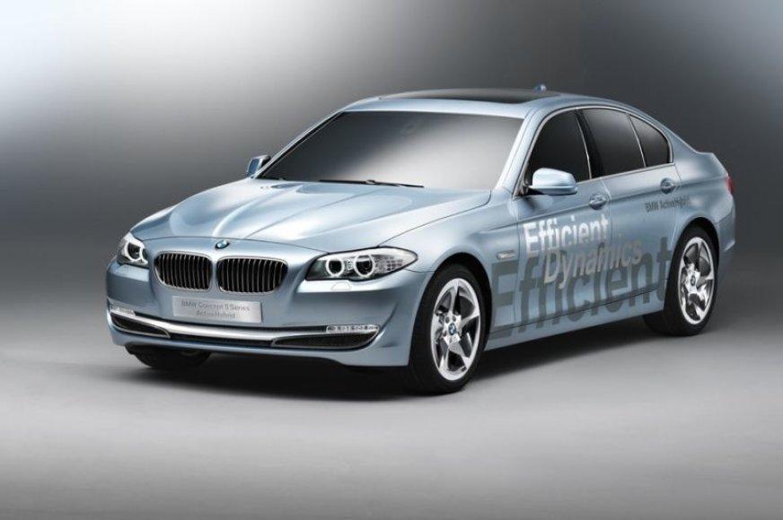 """BMW ActiveHybrid 5"" koncepcija – prabanga ir ekonomija"