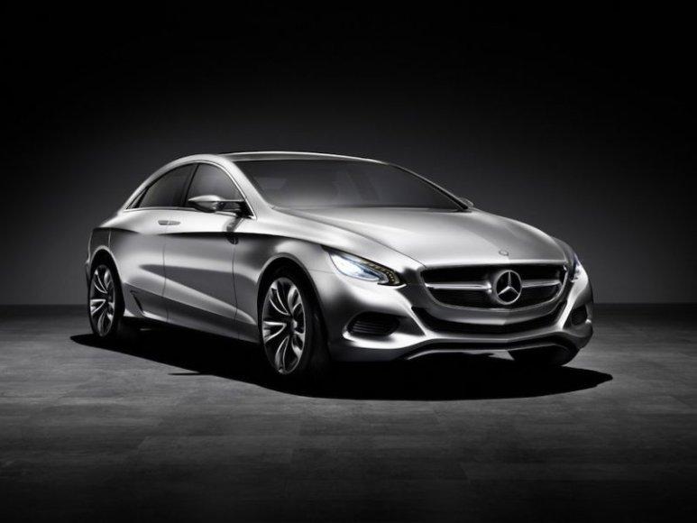"""""""Mercedes-Benz F800 Style"""" koncepcija – žvilgsnis į naująjį CLS"""