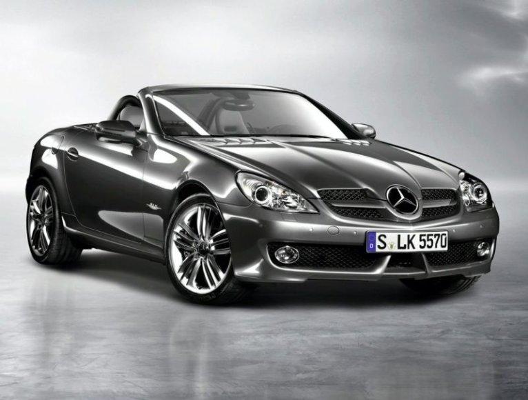 """Mercedes-Benz SLK Grand Edition"" – norintiems išsiskirti"