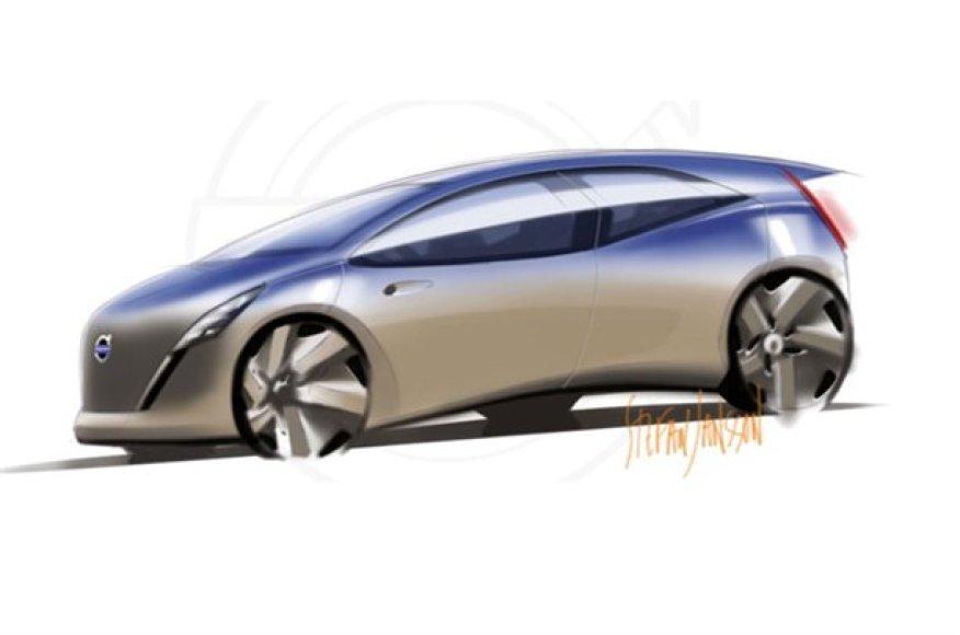 """""""Volvo"""" ruošia naują elektromobilio koncepciją?"""