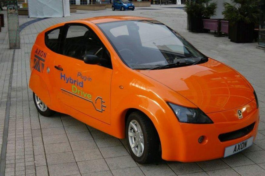 """""""Axon Plug-In Hybrid"""" – britų hibridas keliaus į gamyklą"""
