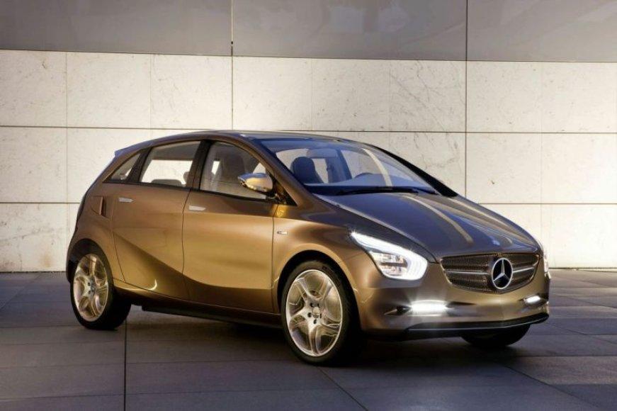 """""""Mercedes-Benz BlueZERO E-CELL PLUS"""" – ekologiška koncepcija"""