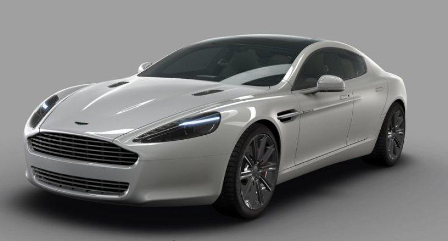 """""""Aston Martin Rapide"""" gali debiutuoti Frankfurte"""