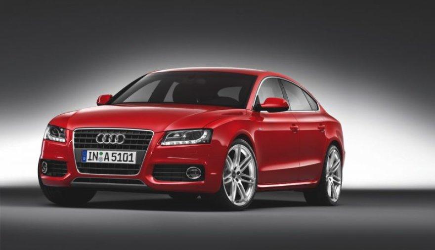 """Audi A5 Sportback"" – oficialiai pristatytas"