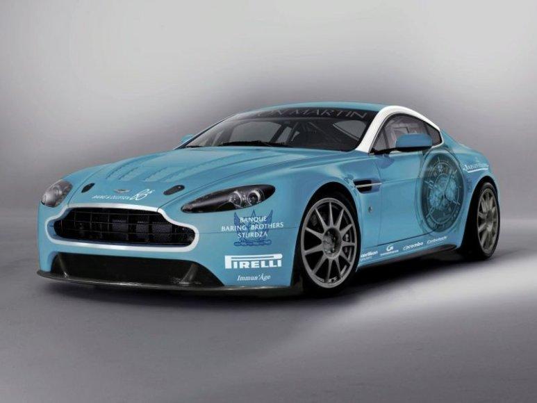 "Specialus ""Aston Martin V12 Vantage"" pasirodys Niurburgringe"