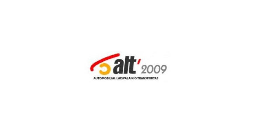 Automobilių paroda ALT 2009 – jau šį savaitgalį Vilniuje