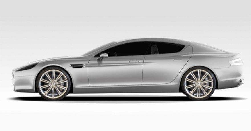 """""""Aston Martin Rapide"""" – gražiausias ketverių durų kupė pasaulyje?"""