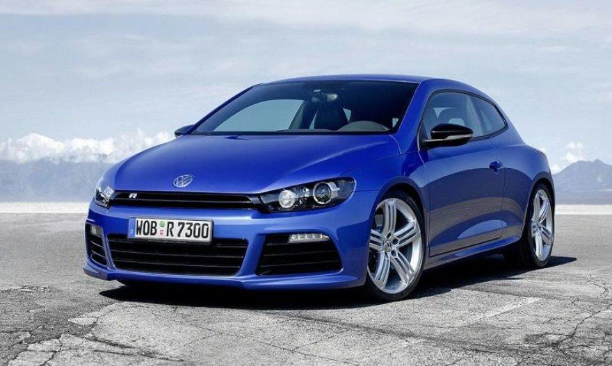 """""""Volkswagen Scirocco R"""" – greičio ir galios mėgėjams"""