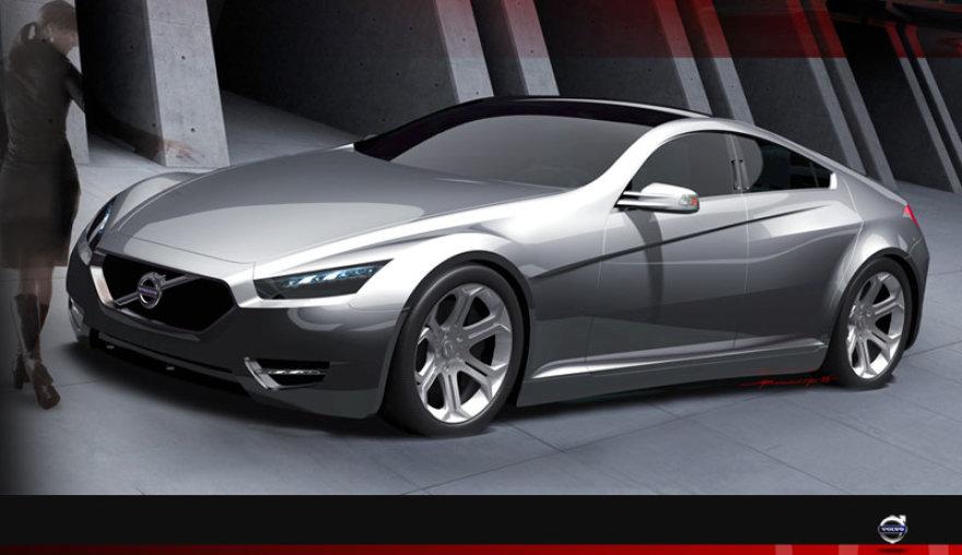 """""""Volvo SC90"""" koncepcija ruošiasi konkurencijai"""