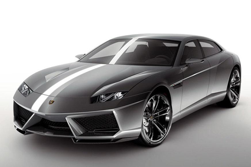 "Atšaukta ""Lamborghini Estoque"" gamyba"